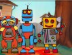 3 Robot Online Coloring